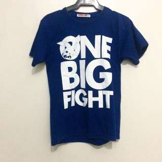 One Big Fight tee