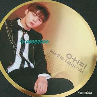 Hwang Minhyun Mirror Card (Wanna One I.P.U Night Version)