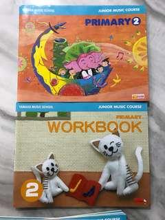 Yamaha junior course book 2 and workbook