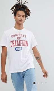Champion tee shirt