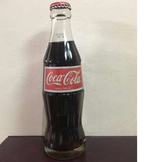 Vintage coke bottle 193ml 1996