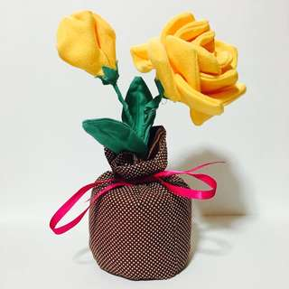 Artificial Yellow Roses