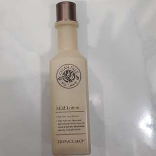 The Face Shop Clean Face Mild Lotion for Oily Skin