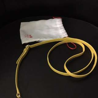 coach sling strap yellow