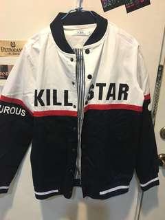 🚚 [近全新]美式棒球外套(男女皆可穿)