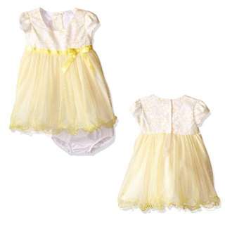 SALE 75% Off - 18 Mths BNWT Bonnie baby by Bonnie jean.  2pc dress with diaper cover