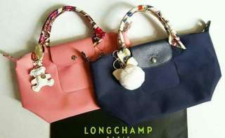 Longchamp bags with freebies