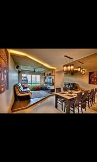 4 room Hdb for rental
