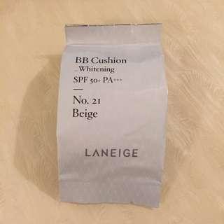 LANEIGE BB Cushion Whitening Refill No.21 (Beige)