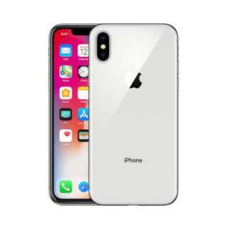 Brand New Sealed iPhone X 256gb Silver(1580sgd)