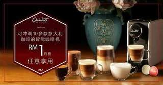 Arristo Italy Premium Coffee Sharing