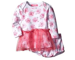 SALE 70% Off - 18 Mths BNWT Isaac Mizrahi baby girls floral skirted dress with diaper cover