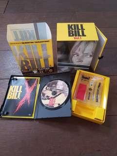 Kill Bill Vol. 1 Japan Box Set Limited Edition DVD