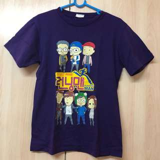Running Man t shirt