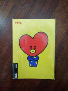 BT21 Tata Notebook A5 WTS Ready Stock