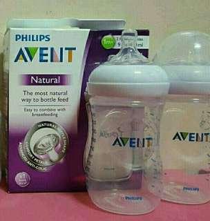 Avent Natural 9oz 2pcs