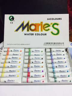 Professional Marie's Watercolour Paint 24 Colours (brand new, not opened)