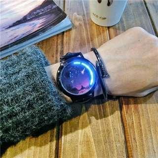 星空手錶 LED觸屏手錶 智能手錶