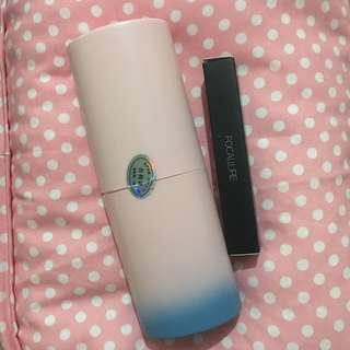 Gradient Brush Set & Focallure Matte Lips