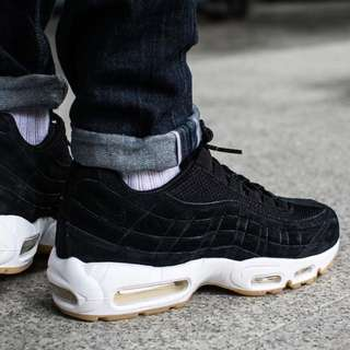 🚚 Nike air max 95 prm trainers 焦糖底 黑 black shoe 538416 004
