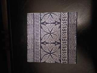 Decoupage napkin