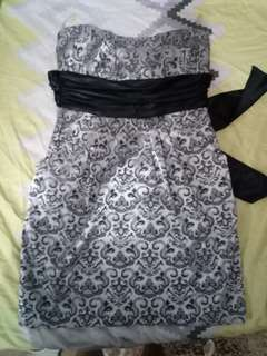 """Pre-love dress """"used once"""""""