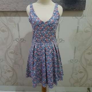 Floral simply dress