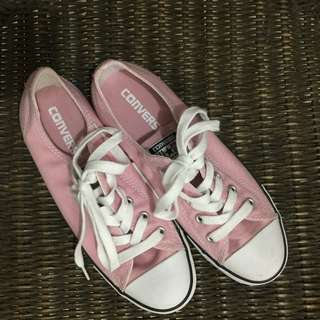 CONVERSE All Star Pink Low Cut Sneakers