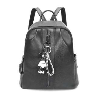 Fashion Korean Backpack Black High Quality