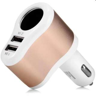 🔅Best Deal🔅 Dual USB Car Charger 3.1A
