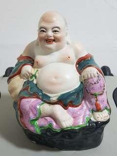 Laughing Buddha(景德镇) 6in x 8 in