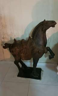 Antique wooden horse 30yrs old