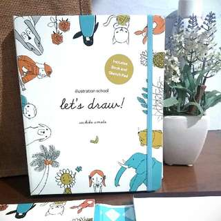 New ❕Let's Draw! Illustration School By Sachiko Umoto