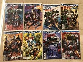 DC Rebirth - Suicide Squad (#1-8)