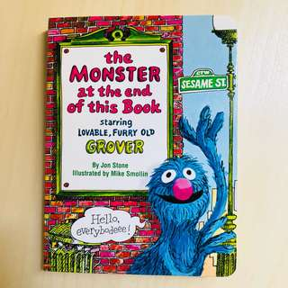 The monster at the end of this book (Grover)