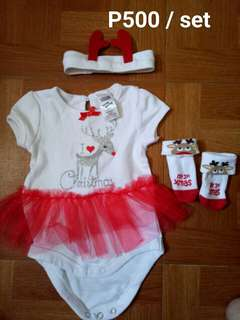 Baby girl Christmas Outfit