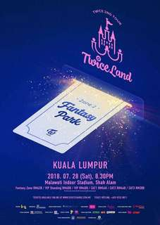 Ticketing service for Twiceland in Malaysia