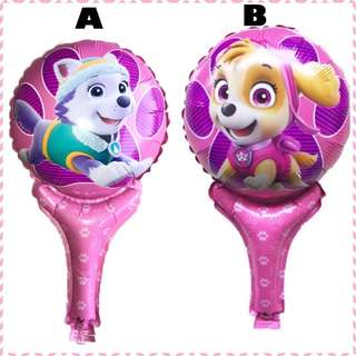 🐾 Paw Patrol Party Supplies - party gifts / Handheld balloons/ party favors