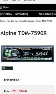 Alpine TDM-7590R