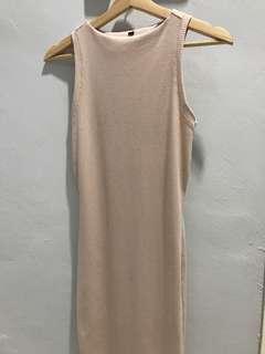 🔥 [Cotton on] Pink Halter Bodycon dress