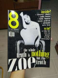 8 Days - Zoe Tay 1996 edition. 郑慧玉