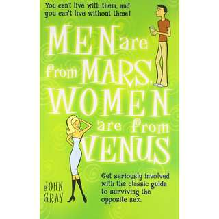 Free ebook - Men Are from Mars, Women Are from Venus by John Gray