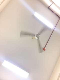 Pasang lampu kipas
