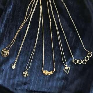 💍Pendant Necklace (H&M, SM accessories)