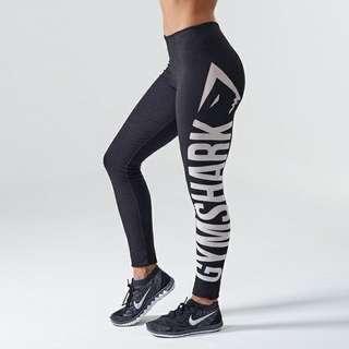 Gymshark Burnout Leggings Black 運動褲瑜伽褲緊身褲健身褲