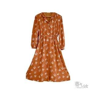 古著洋裝-卡露拉的捧花