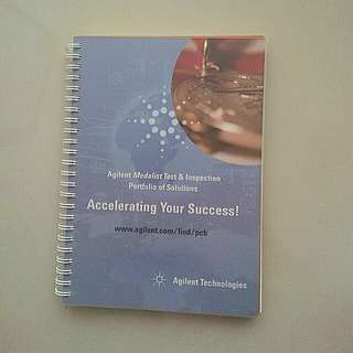 Hard Cover Note Book with Plastic Cover