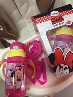 BN Disney Minnie Mouse water bottle strap