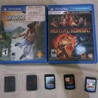 PS Vita Games and Memory Cards