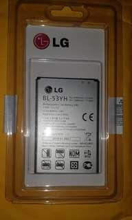 New LG battery